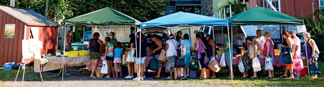 market-stands