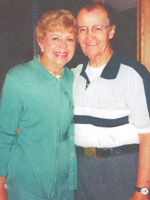 Harry Fisler '48 married Martha Shapiro on Aug. 31.
