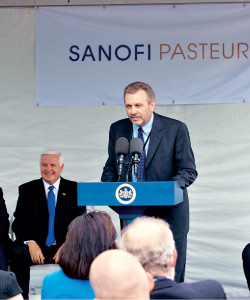 Profile: Hosbach '84 Heads Policy at Sanofi Pasteur