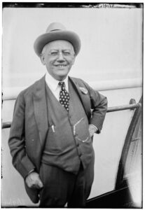 black and white image of Carl Laemmle in 1918