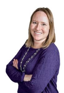 Christine Thomas smiles