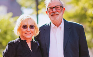 Patricia Donahue and husband, Michael Garst